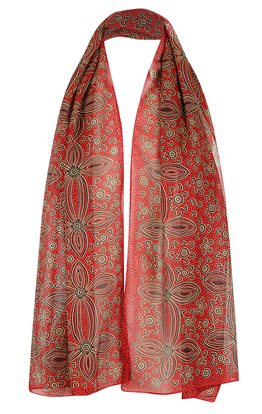Silk Scarf Aboriginal Scarves For Women Online